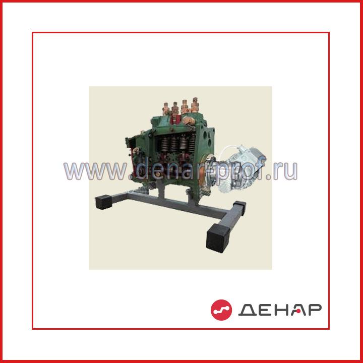 Топливный насос высокого давления МТЗ 80-82 в разрезе с электромеханическим приводом