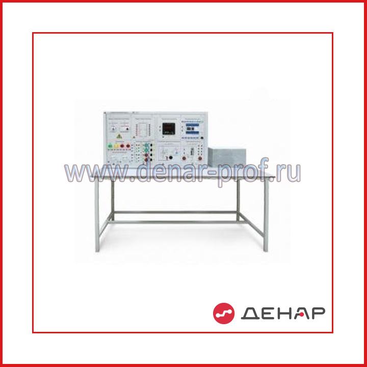 Типовой комплект учебного оборудования «Инновационные электротехнические коммутаторы» 2-х секционный ИЭК-2-Н