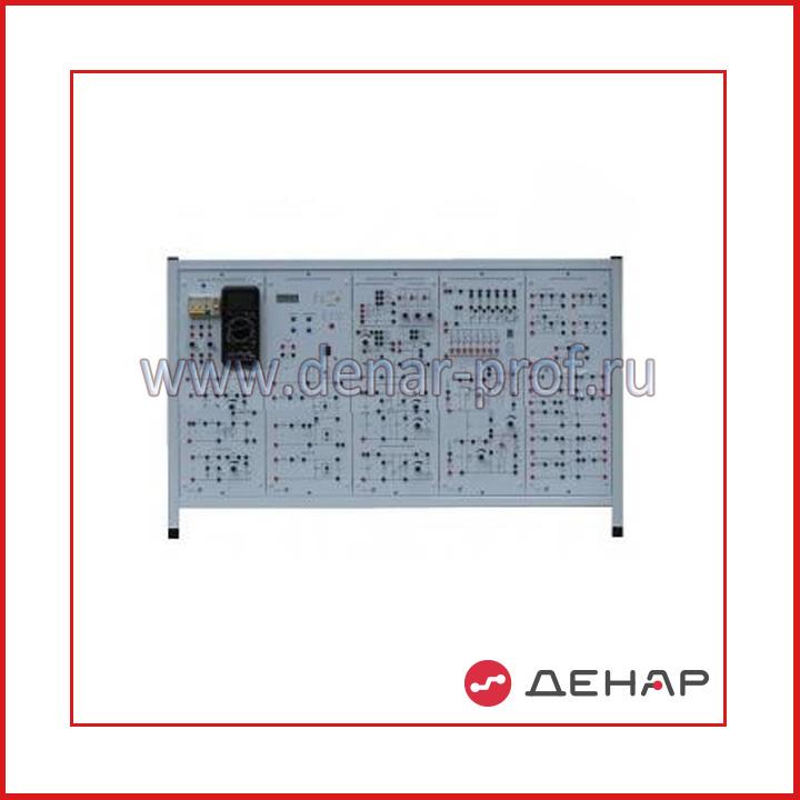 Типовой комплект учебного оборудования «Аналоговая электроника», исполнение стендовое, компьютерное АЭ-СК (без ПК)