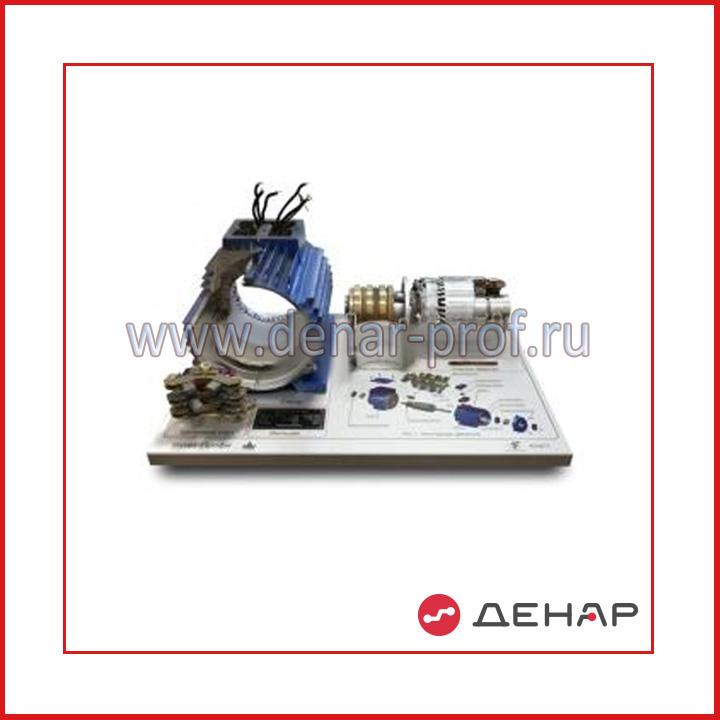 Планшет «Асинхронный двигатель с фазным ротором»