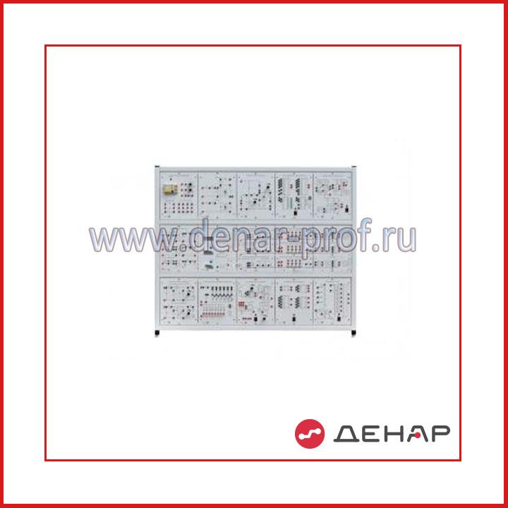 Типовой комплект учебного оборудования «Электроника», исполнение стендовое, ручное Э-СР