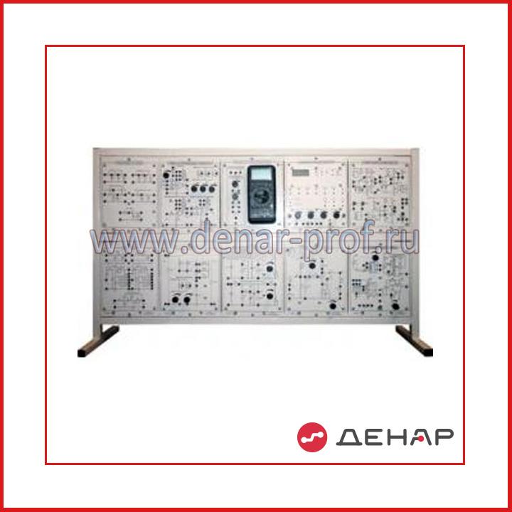 Типовой комплект учебного оборудования «Схемотехника», исполнение настольное, ручное СТ-НР