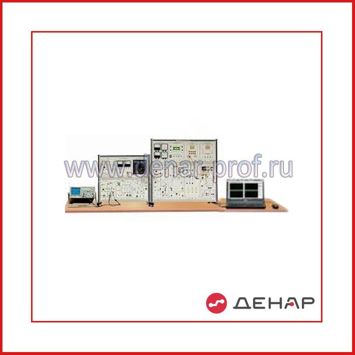 """Типовой комплект учебного оборудования """"Преобразовательная техника"""", исполнение стендовое компьютерное с осциллографом, ПТ2-ННА"""