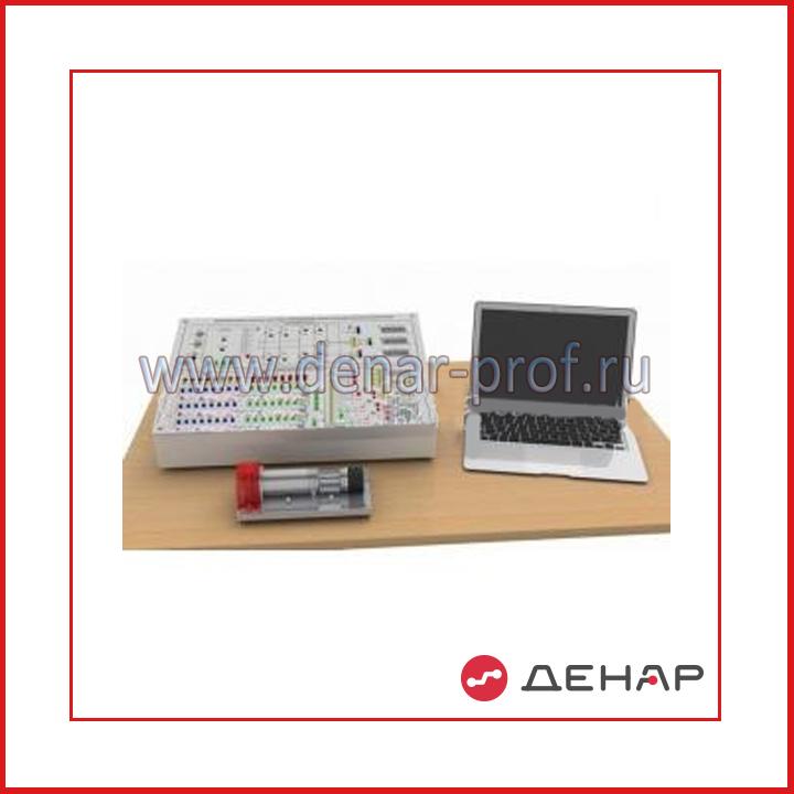 """Типовой комплект учебного оборудования """"Микропроцессорная система управления тиристорным преобразователем"""", исполнение моноблочное с ноутбуком, МПСУ2-ТП-ДПТ-МН"""