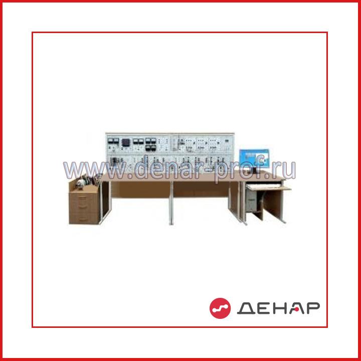 """Типовой комплект учебного оборудования """"Модель электрической системы"""", исполнение настольное с ноутбуком, МЭС-НН"""