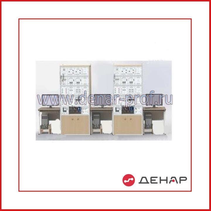 """Типовой комплект учебного оборудования """"Интеллектуальные электрические сети"""", исполнение стендовое компьютерное, ИЭС2-СК"""