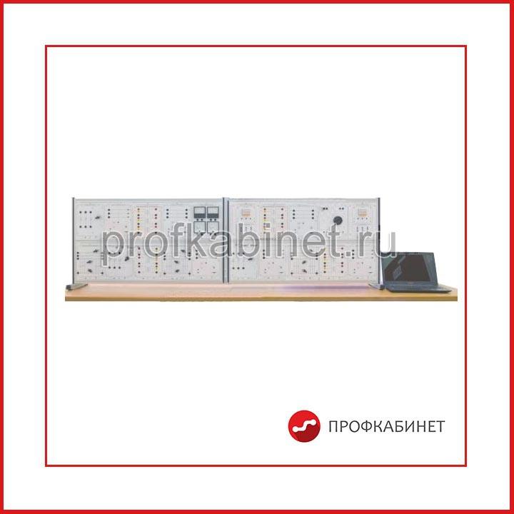 """Типовой комплект учебного оборудования """"Релейная защита, автоматика и качество электрической энергии электроэнергетических систем"""", исполнение настольное с ноутбуком, РЗАиК-НН"""