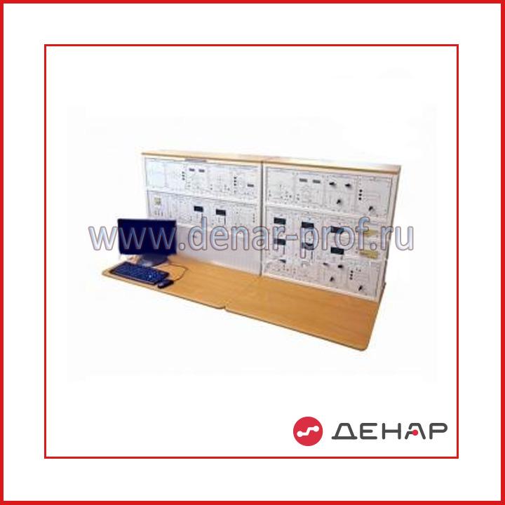 """Типовой комплект учебного оборудования """"Модель цифровой подстанции"""", исполнение стендовое компьютерное, МЦП-СК"""