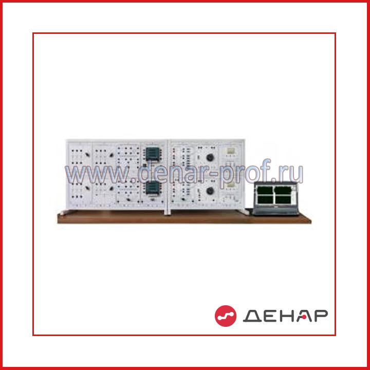 """Типовой комплект учебного оборудования """"Передача и качество электрической энергии в системах электроснабжения"""", исполнение настольное компьютерное, ПиКЭЭ-НН"""