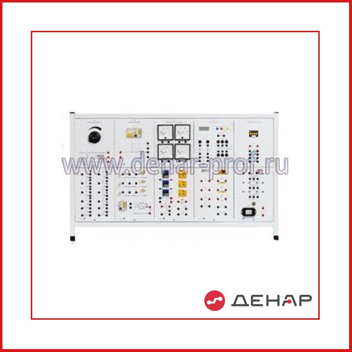 Типовой комплект учебного оборудования «Электрические аппараты»», исполнение настольное, ручное ЭА-НР