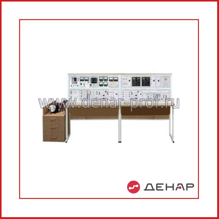 """Типовой комплект учебного оборудования """"Энергосбережение в системах электроснабжения"""", исполнение стендовое ручное, ЭС-СЭС-СР"""