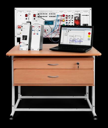 """Комплект типового учебного оборудования """"Автоматизация технологических процессов и производств на основе приборов ОВЕН"""" АТПП4-С-К"""