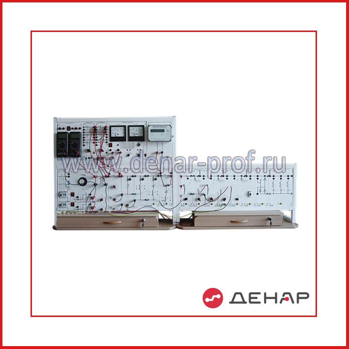 Однолинейная модель распределительной электрической сети с измерителем показателей качества электроэнергии ЭЭ1-ОРСК-С-К