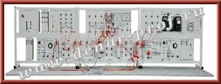 Модель электрической сети с длинной линией электропередачи ЭЭ1-СЛ-С-Р