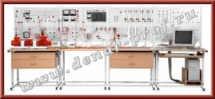 Модель одномашинной электрической системы с релейной защитой и автоматикой ЭЭ1-ЗА-С-К