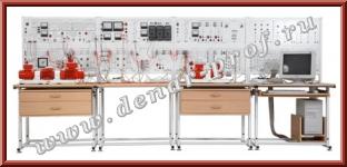 Модель одномашинной электрической системы с комплексной нагрузкой ЭЭ2-Н-С-К