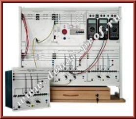 Электробезопасность в трехфазных сетях с изолированной и заземленной нейтралью ЭБТС1-Н-Р