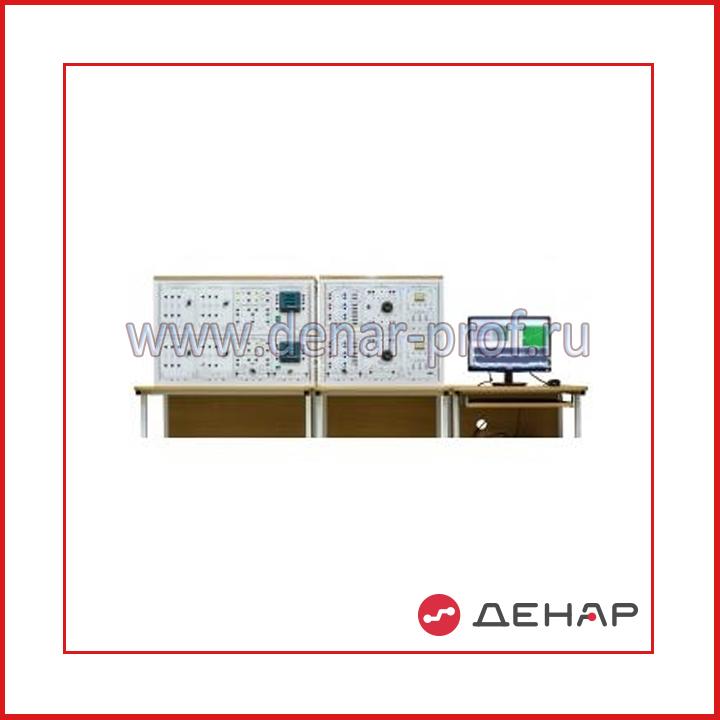 """Типовой комплект учебного оборудования """"Качество электрической энергии в системах электроснабжения"""" исполнение стендовое компьютерное  КЭЭ-СК"""