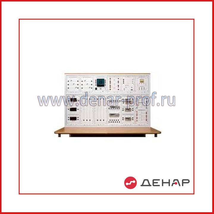 """Типовой комплект учебного оборудования """"Измерение электрической мощности и энергии"""", исполнение настольное ручное  ИЭМЭ-НР"""