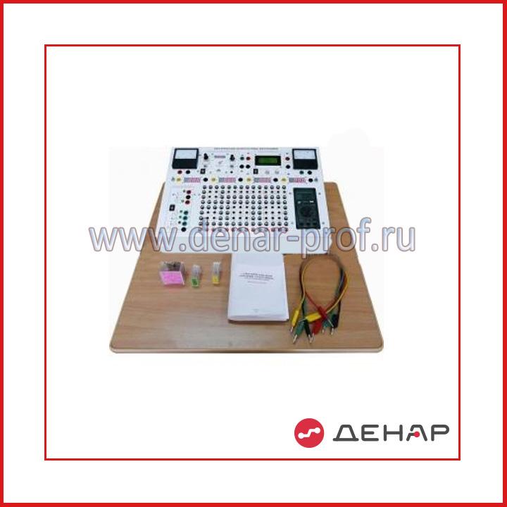 Типовой комплект учебного оборудования «Электрические цепи и основы электроники», исполнение моноблочное ручное минимодульное (ЭЦиОЭ-МРМ)