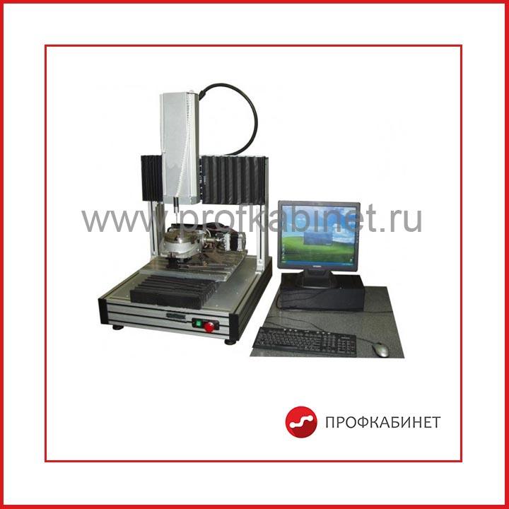 Дополнительная комплектация КИМ с поворотным столом (п.8) для обеспечения контроля режущих инструментов и инструментальных наладок