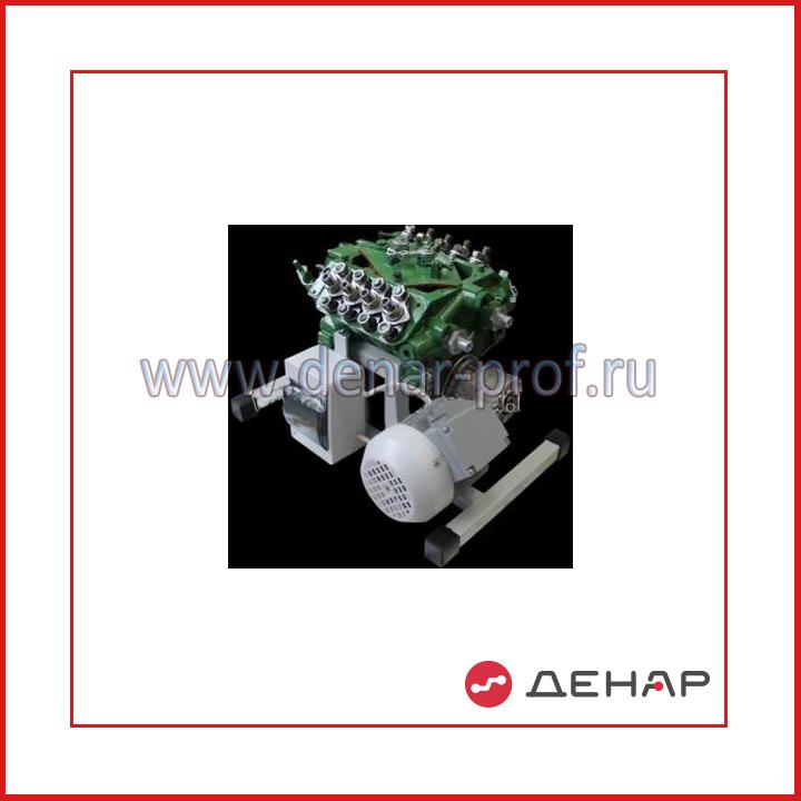Топливный насос высокого давления КАМАЗ в разрезе с электромеханическим приводом