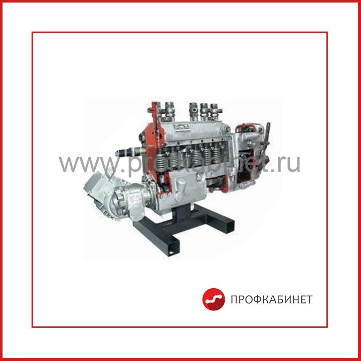 Топливный насос высокого давления ЯМЗ в разрезе с электромеханическим приводом